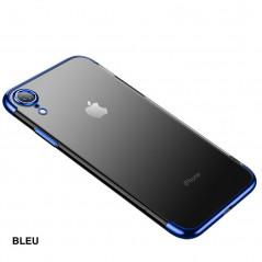 Coque silicone gel CAFELE 3D Plating contours métallisé Apple iPhone XR