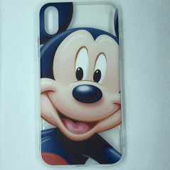 Coque silicone gel Mickey Mouse Apple iPhone XS Max