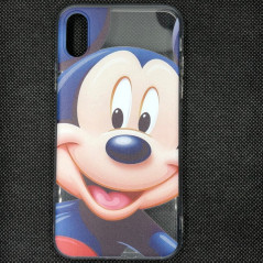 Coque silicone gel Mickey Mouse Apple iPhone XS