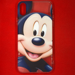 Coque silicone gel Mickey Mouse Apple iPhone X