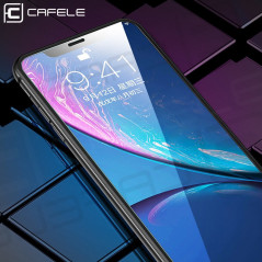 Protection écran verre trempé intégrale CAFELE Apple iPhone XR