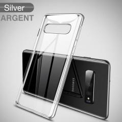Coque silicone gel CAFELE 3D EDGE Plating contours métallisés Samsung Galaxy S10