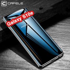 Coque silicone gel CAFELE 3D EDGE Plating contours métallisés Samsung Galaxy S10e