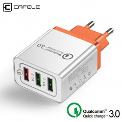 Chargeur secteur CAFELE AR-QC-03 Quick Charge Qualcomm 3.0