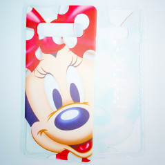 Coque silicone gel Minnie Mouse Samsung Galaxy S10