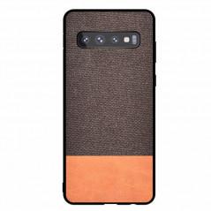 Coque rigide FABRIC PU Series Samsung Galaxy S10