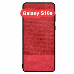 Coque rigide FABRIC PU Series Samsung Galaxy S10e