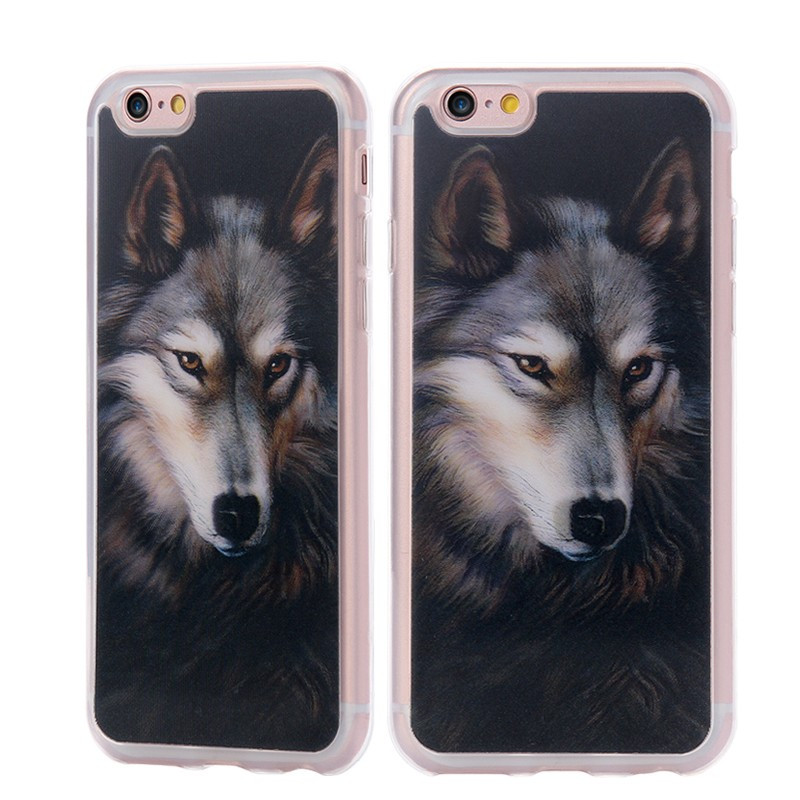 Coque 3D Visual Effect LOUP Apple iPhone 6/6S Plus