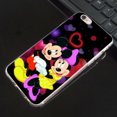 Coque silicone gel Mickey & Minnie in Love Apple iPhone 6/6S Plus
