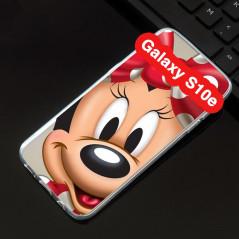 Coque silicone gel Minnie Mouse Samsung Galaxy S10e