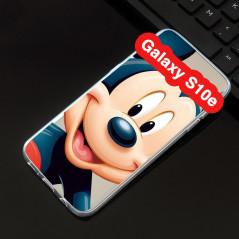 Coque silicone gel Mickey Mouse Samsung Galaxy S10e