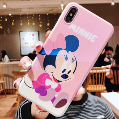 Coque silicone gel Minnie Mouse Baby Apple iPhone X/XS