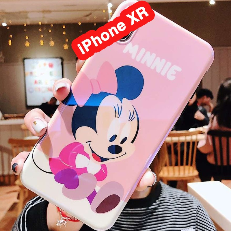 coque iphone xr minnie silicone