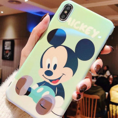 Coque silicone gel Mickey Mouse Baby Apple iPhone X/XS