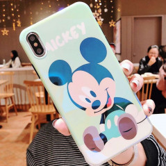 Coque silicone gel Mickey Mouse Baby Apple iPhone XS Max