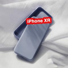 coque iphone xs max silicone noyer