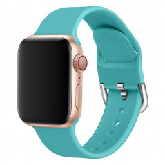Bracelet sport silicone avec boucle (Taille S/M) Apple Watch 1/2/3/4/5 (38/40mm)