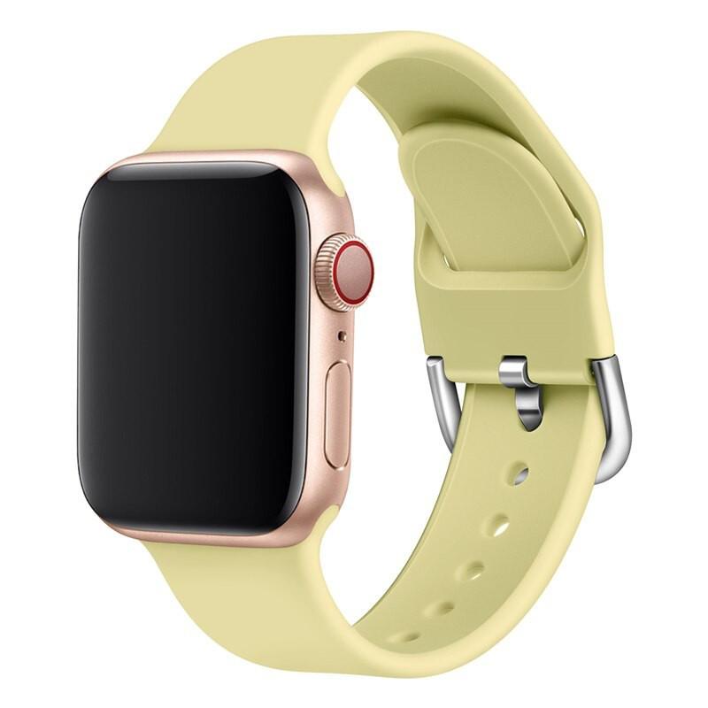 Bracelet sport silicone avec boucle (Taille S/M) Apple Watch 1/2/3/4/5 (38/40mm)