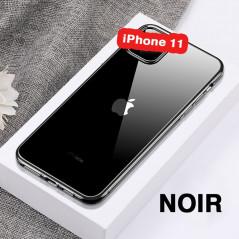 Coque silicone gel CAFELE 3D EDGE Plating contours métallisés Apple iPhone 11