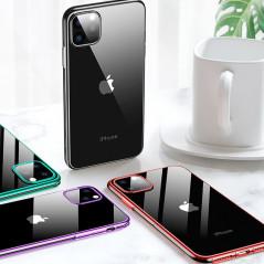 Coque silicone gel CAFELE 3D EDGE Plating contours métallisés Apple iPhone 11 PRO