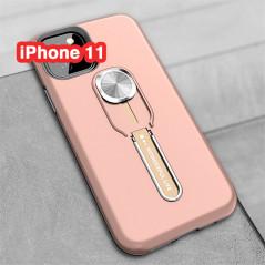 Coque rigide antichoc bimatière Magnetic Series avec béquille Apple iPhone 11