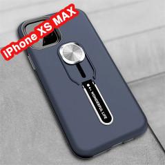 Coque rigide antichoc bimatière Magnetic Series avec béquille Apple iPhone XS MAX