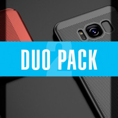 DUOPACK Coque rigide FLOVEME MESH Samsung Galaxy S8 Plus