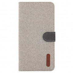 Etui folio Portefeuille Denim Series Samsung Galaxy S10