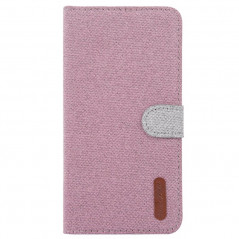 Etui folio Portefeuille Denim Series Samsung Galaxy S10 Plus
