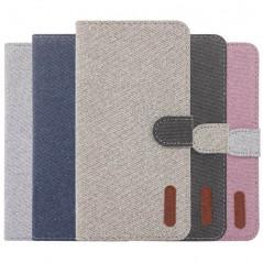 Etui folio Portefeuille Denim Series Samsung Galaxy S10e
