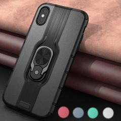 Coque rigide antichoc KEYSION DUALPRO RING Series Apple iPhone X/XS