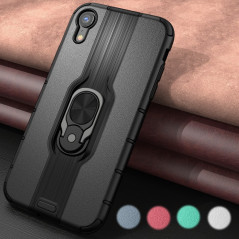 Coque rigide antichoc KEYSION DUALPRO RING Series Apple iPhone XR