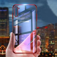 Coque silicone gel 3D Plating contours métallisé Samsung Galaxy Note 10