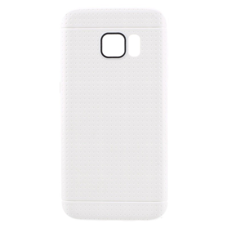 Coque Honeycomb Dots Samsung Galaxy S7 Blanc