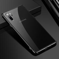 Coque silicone gel 3D Plating contours métallisé Samsung Galaxy Note 10 Plus
