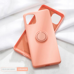 Coque silicone gel doux ORING Series Apple iPhone 11
