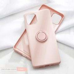 Coque silicone gel doux ORING Series Apple iPhone 11 PRO MAX