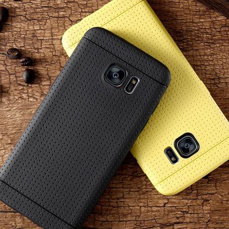Coque Honeycomb Dots Samsung Galaxy S7 Edge