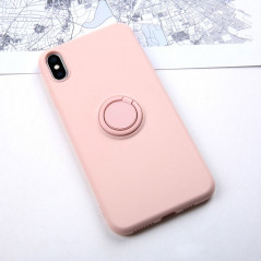 Coque silicone gel doux ORING Series Apple iPhone XS MAX