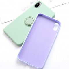 Coque silicone gel doux ORING Series Apple iPhone X/XS