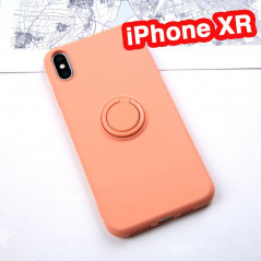 Coque silicone gel doux ORING Series Apple iPhone XR