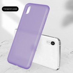 Coque silicone gel OXYGEN Series Apple iPhone XR