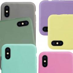 Coque silicone gel OXYGEN Series Apple iPhone X/XS