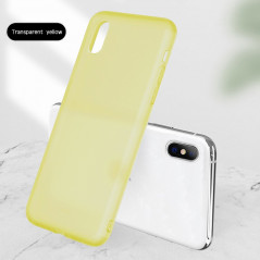 Coque silicone gel OXYGEN Series Apple iPhone X/XS