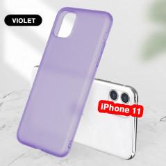 Coque silicone gel OXYGEN Series Apple iPhone 11