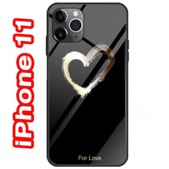 Coque rigide Love Heart Apple iPhone 11