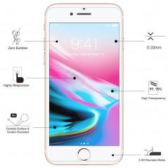 Protection écran verre trempé Eiger 2.5D SP GLASS Apple iPhone 7/8/SE 2020 Clair