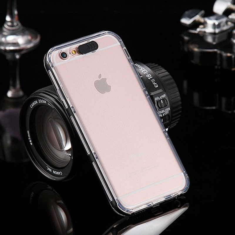 Coque Ultra-Clear Flash Calling Apple iPhone 6/6s Noir