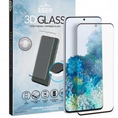 Protection écran verre trempé Eiger 3D GLASS CF Samsung Galaxy S20 Ultra 5G