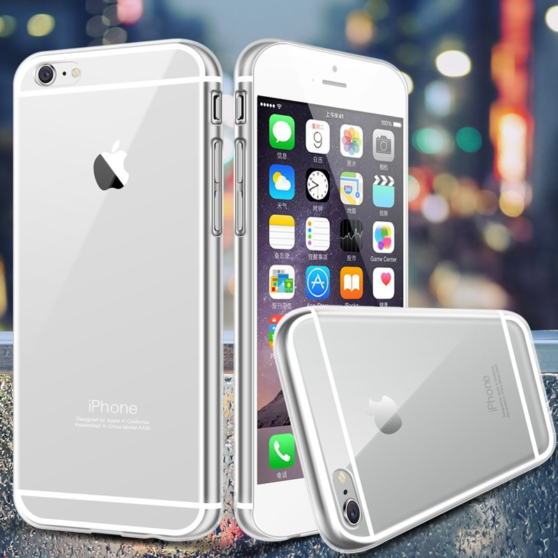 Coque Ultra Slim Crystal Apple iPhone 6/6S Clair